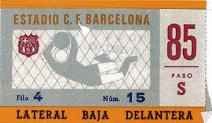 kaartjes barcelona voetbal
